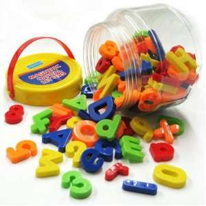 Megcos Fun Magnetic Letters & Numbers Set 100 Pieces