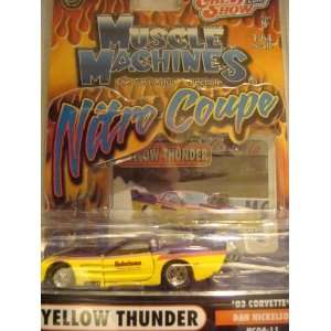 Muscle Machines Nitro Coupe 03 Corvette Funny Car Super