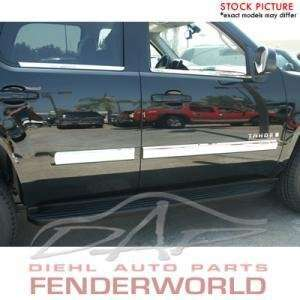 CHEVY SILVERADO REG CAB 07 08 CHROME BODYSIDE MOLDINGS