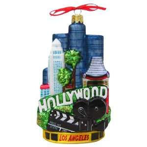 Kurt Adler C4054 Los Angeles Glass Cityscape Ornament, 5 1