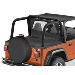 1997 2002 Jeep Wrangler Roll Bar Cover Kit Black Automotive