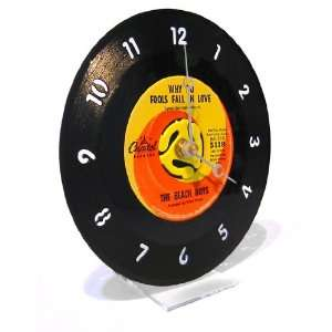45RPM Record Desk Clock   Rock Genre