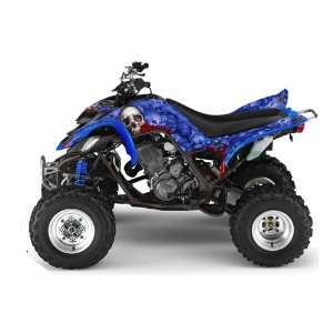 AMR Racing Yamaha Raptor 660 ATV Quad Graphic Kit   Bonecollector