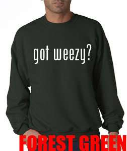 New Got Weezy Young Money Cash Money Lil Wayne Drake YMCMB Crew Neck