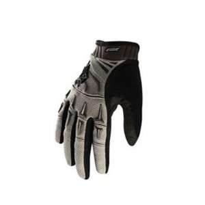 Fox Racing Attack Full Finger MTB & BMX Cycling Gloves   Dark Stone