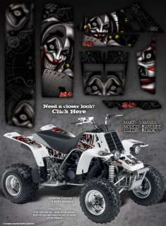 YAMAHA BANSHEE GRAPHICS THE EVIL JESTER BLACK/GRAY