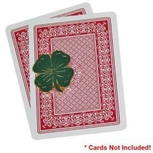 Lucky Four Leaf Clover Shaped Card Cover Sports