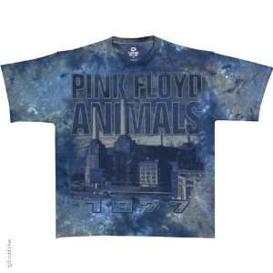 Pink Floyd Animals 77 T Shirt (Tie Dye), 2XL