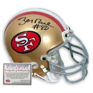 Jerry Rice San Francisco 49ers NFL Hand Signed Full Size
