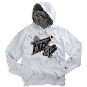 Fox Racing Acension Hoody   Large/White Automotive