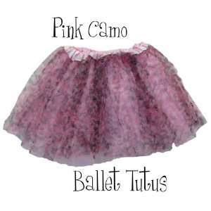 Fairy Ballerina Dress Up Tutu for Baby Toddler Girls   Pink Camo Baby