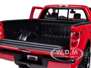 FORD F 150 STX PICKUP TRUCK RED 1/27 DIECAST MODEL CAR BY MAISTO 31270