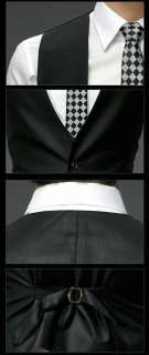 SA New Mens Stylish Slim Fit Sexy Top 3 Parts Suits