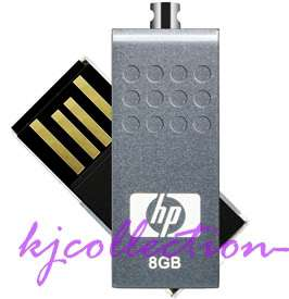 HP 8G 8GB USB Flash Drives Disk Mini Strap Stick v115w