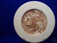 Royal CauldonThe Water Wheel Collector Plate(England)