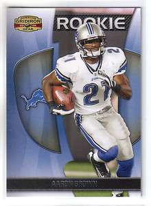 AARON BROWN 2009 Gridiron Gear RC 603/999