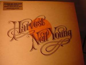 NEIL YOUNG HARVEST AUDIOPHILE 2009 USA PRESS Sealed LP