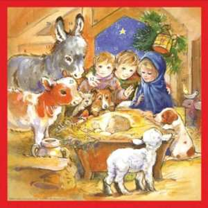Childrens Manger Advent Calendar (C864A)