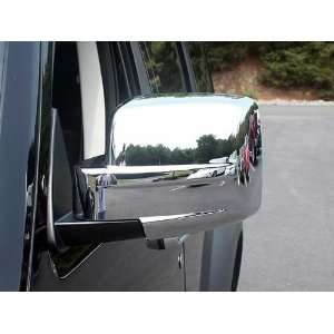 2007 2011 Dodge Nitro 2pc Chrome Mirror Covers Automotive