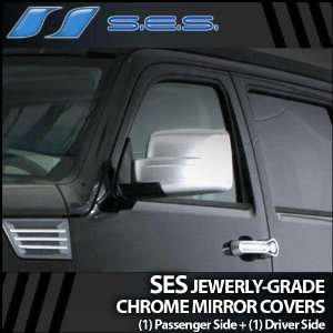 2007 2011 Dodge Nitro SES Chrome Mirror Covers Automotive