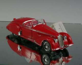 Franklin Mint Die cast car 1937 Alfa Romeo 2900B