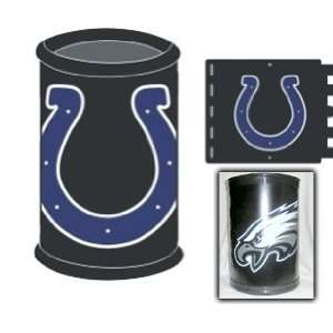 Indianapolis Colts Team Trash Can Garbage Basket NFL