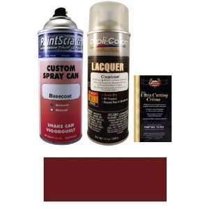 12.5 Oz. Dark Canyon Red Metallic Spray Can Paint Kit for 1986 Lincoln