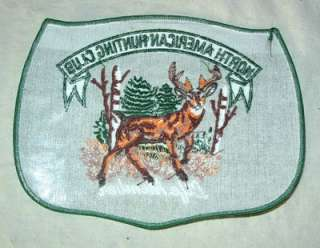 NORTH AMERICAN HUNTING CLUB PATCH W/ DEER