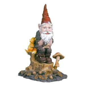 Einstein, the Thinker Garden Gnome Statue Patio, Lawn & Garden