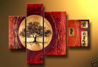 Frame)New Abstract Huge Art Oil Painting decorate No.4