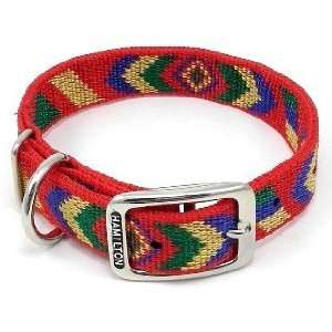 Hamilton NAVAJO 1 D/T Nylon Dog Collar, Red, 18  Kitchen
