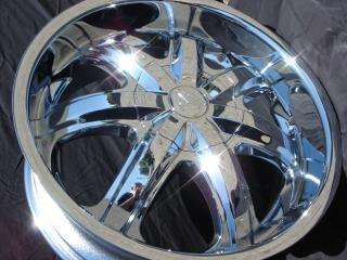 Wheel + Tire Packages 26 inch Triple chrome rims B7
