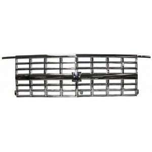 89 91 CHEVY CHEVROLET SUBURBAN GRILLE SUV, Dual Head Lamp