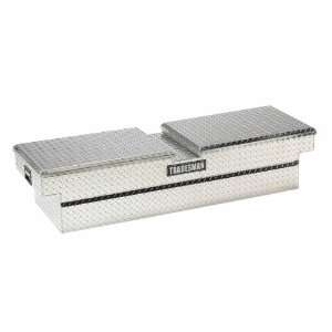 Tradesman 70 in. Aluminum Gull Wing Cross Bed Tool Box