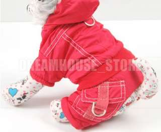 New Dog Hoodie Warm Winter Coat Jacket Jumpsuit APPAREL