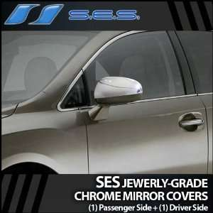 2009 2012 Toyota Venza SES Chrome Mirror Covers