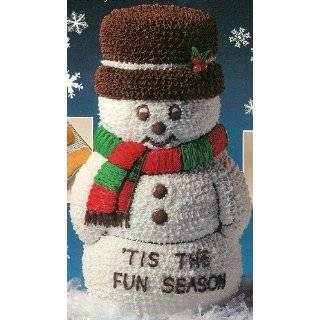 Wilton 3 D Stand Up 3D Snowman Christmas Holiday Cake Pan