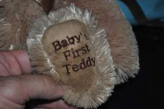 Koala Baby Babys First Teddy Bear Brown Plush Stuffed Animal Lovey