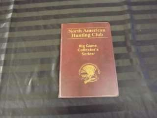 Medallions North American Hunting Club Big Game Collectors Series