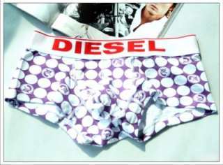 Diesel Sexy Underwear Men BOXER Briefs M*1 Purple New D9