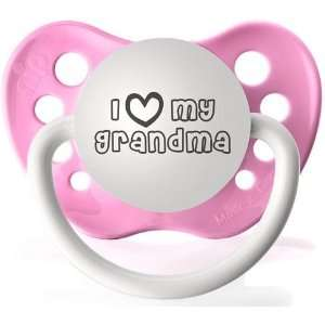 I Heart My Granda Hot Pink   Silicone
