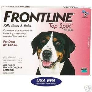 Frontline 6 Month Flea Tick Treatment Dogs 89 132 lbs