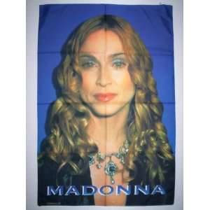 MADONNA 42x30 Inches Cloth Textile Fabric Poster