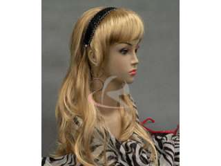 Mannequin Head Bust Wig Hat Jewelry Display Skin #Lisa
