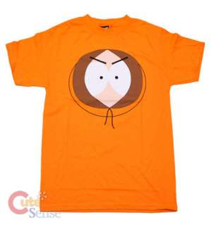 South Park Kenny T Shirt  Kenny Face 4 Size Licensed