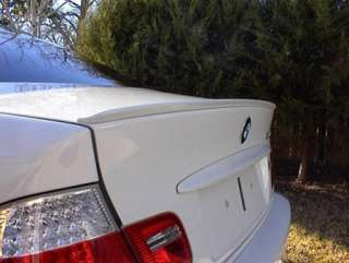 PAINTED 1999 2005 BMW E46 M3 STYLE TRUNK LIP SPOILER