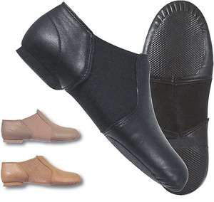 Dance Class by Trimfoot GB100 Black Split Sole Jazz Shoe for Girls and