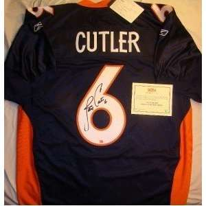 Jay Cutler SIGNED AUTO Authentic RBK EQT Jersey PSA