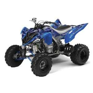 Yamaha Raptor 700 ATV Quad Graphic Kit   Silverhaze B Automotive