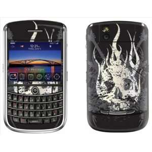 Skull Skin for Blackberry Tour 9630 Phone Cell Phones & Accessories